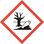 Symbol of environmental hazard