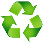 Symbol of recycling
