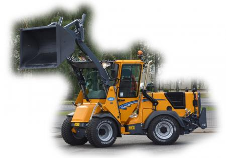 Wille 375 with loader up