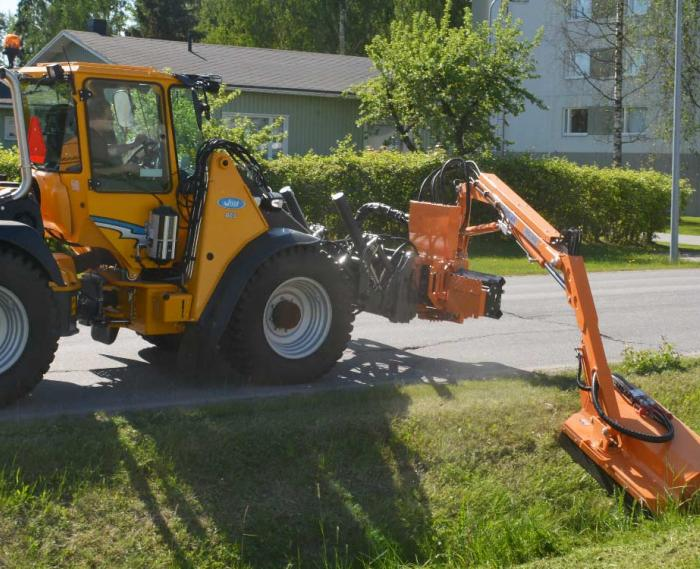 Boom flail mower | Wille