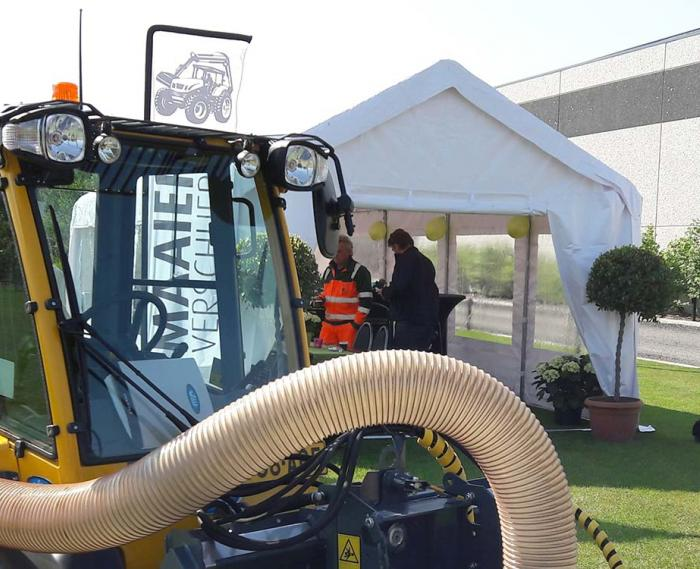 Photo from Wille demo days at Maaiers