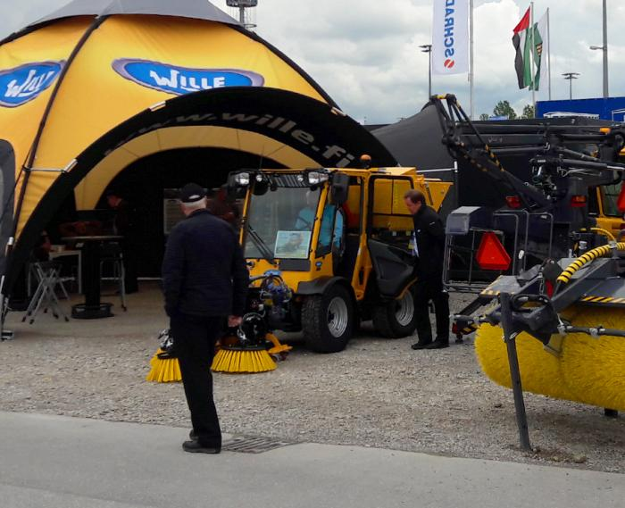 Wille stand at IFAT trade fair