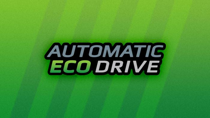 Automatic Eco Drive header