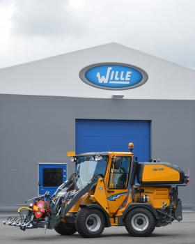Wille 365 with Wille Optim Pressure Washer 550