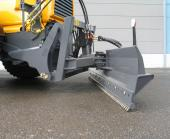 Hydraulic rear blade with Sanviken