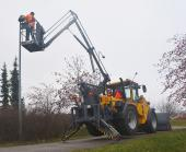 Wille 9 Access Platform being used by the operator