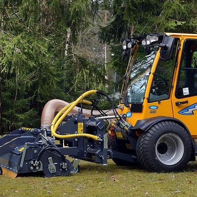 Wille 265 with Leaf Collector 900